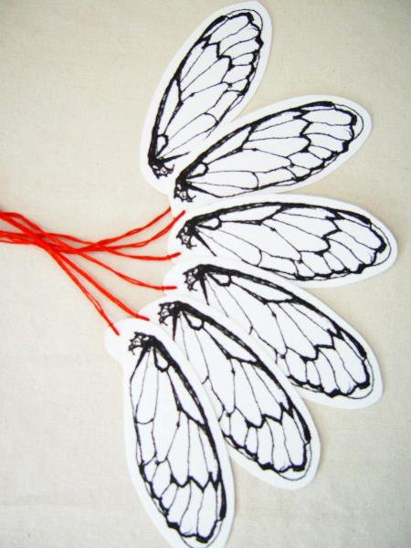 Cicada Wing Gift Tags